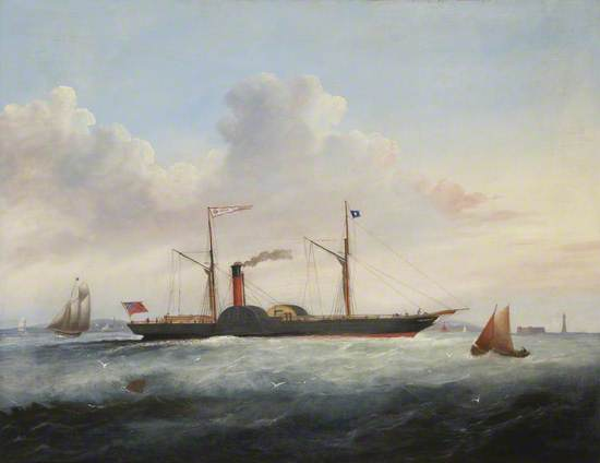 Paddle Steamer 'Queen'
