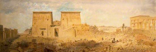 Temples at Philae on the Nile