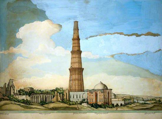 Delhi: Qutab Minar, Adjoining Ruins and the Tomb of Imam Zamin