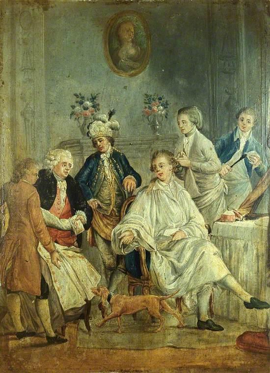 A Gentleman's Toilet (La petite toilette)