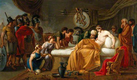 The Wounded Alcibiades
