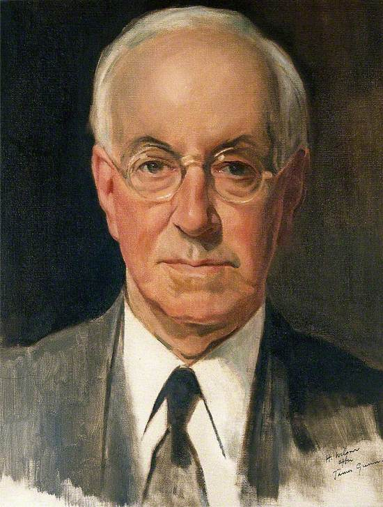 Sir Henry Hallett Dale (1878–1968), Physiologist and Chairman of the Wellcome Trust