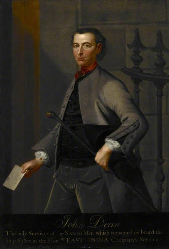 John Dean (d.1747), Shipwrecked Mariner