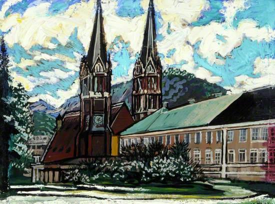 Church in Salzburg, Austria
