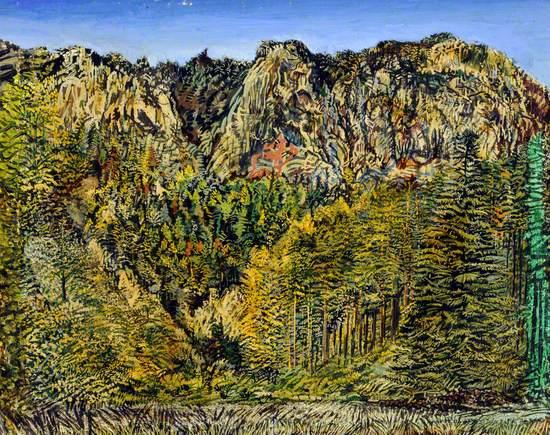 Gorge near Gloggnitz in Austria