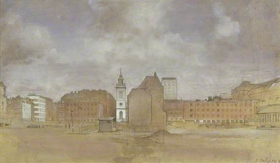 St James', Garlickhythe, Upper Thames, London