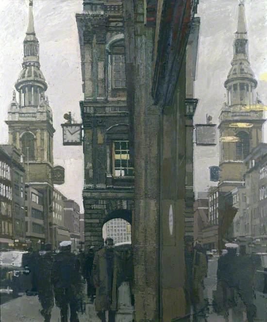Cheapside 10.10 a.m., 10 February 1970