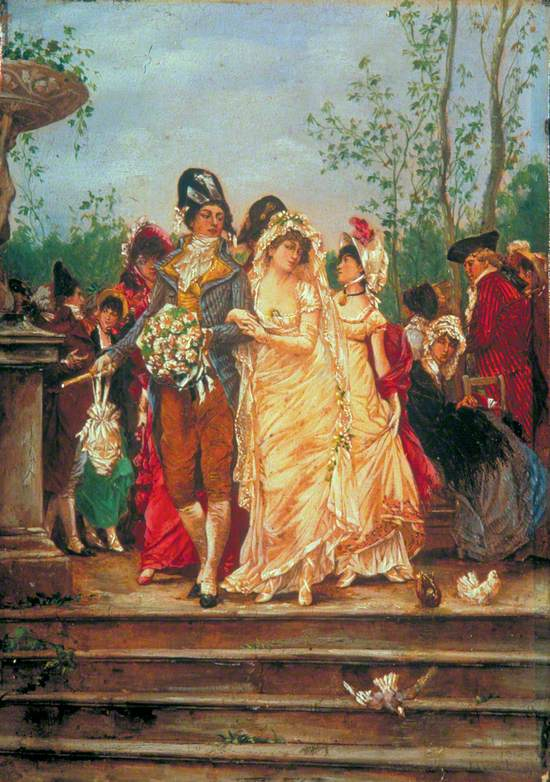 The Revolutionist's Bride, Paris, France, 1799