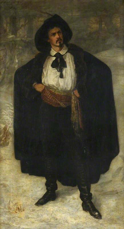 Sir James Jebusa Shannon Dressed as 'Fabien dei Franchi' in 'The Corsican Brothers'