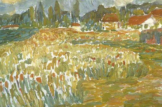 Fields at Orry-La-Ville