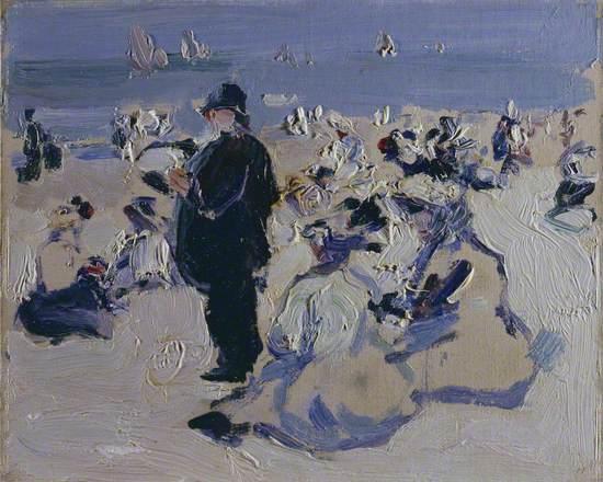 Plage Scene (Beach Scene)