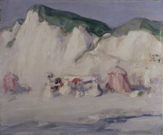 Berneval, the Cliff