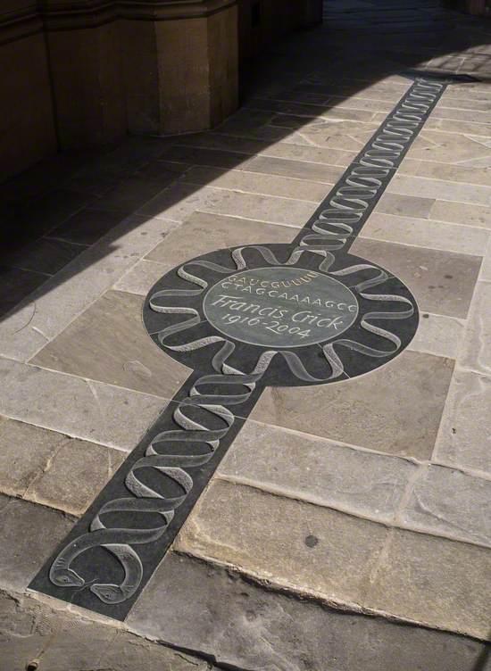 Memorial to Francis Crick (1916–2004)