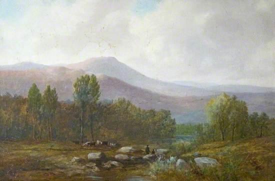 Highland River Landscape