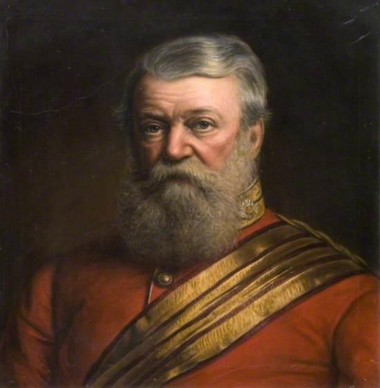 Major General William Yorke-Moore (1806–1890)