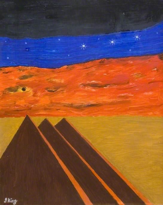 Stars over the Pyramids