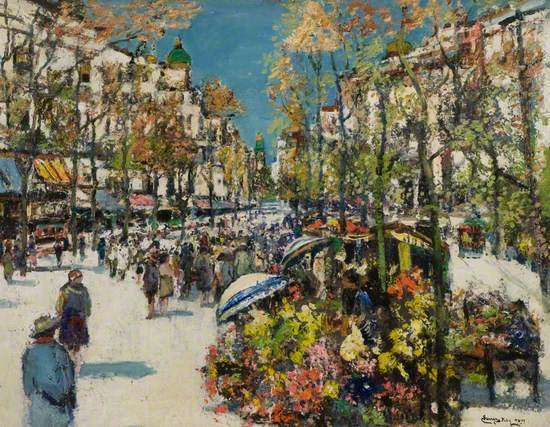 Street of Flowers – Barcelona