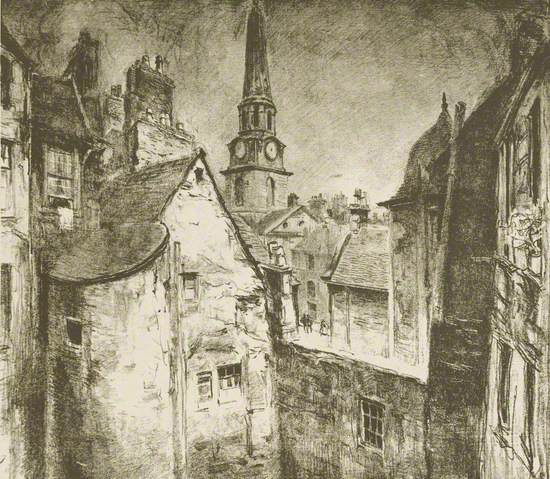 Back Tenements, Crichton Street, Dundee