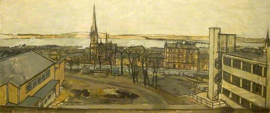 View from the Drawing and Painting Department