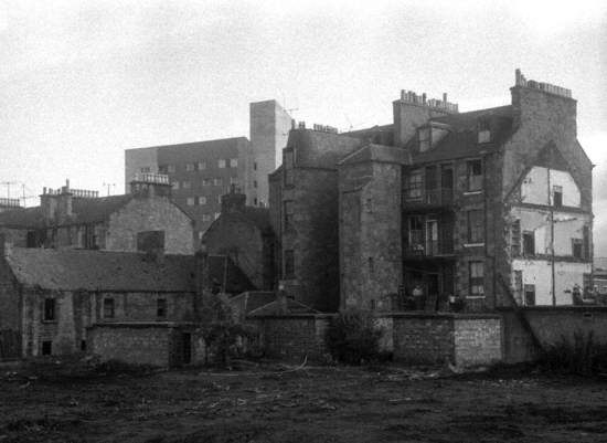 Partly Demolished Buildings, Hawkhill, Dundee