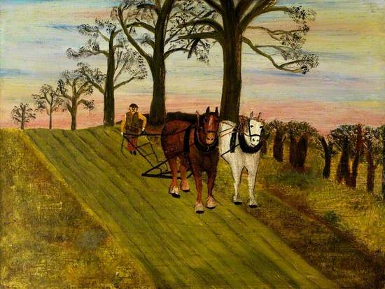 The Tanfield Ploughman