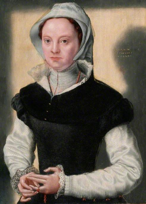A Lady in Sixteenth-Century Costume