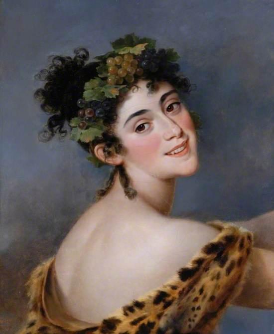 Madame Bigottini (1785–1858), as a Bacchante