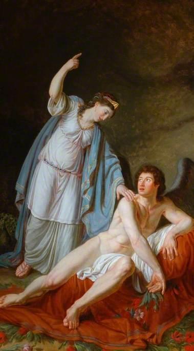 Juno Instructing Cupid