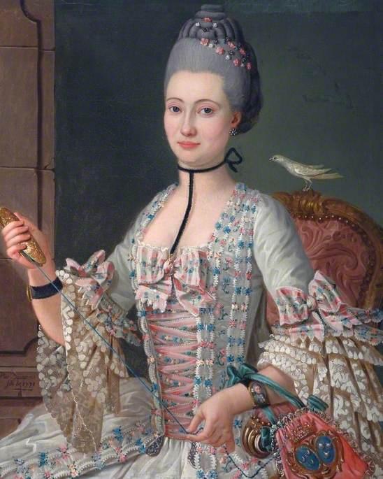Portrait of Elizabeth de la Vallée de la Roche
