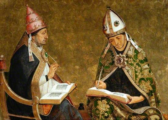 St Gregory and St Augustine