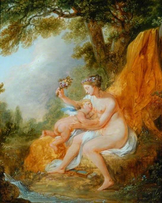 Venus Chastising Cupid