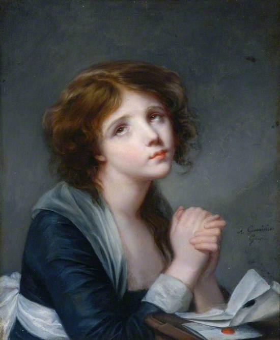 A Girl in Prayer