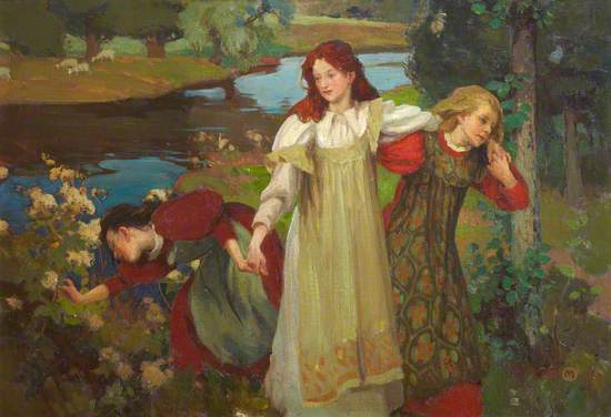 'There were three maidens pu'd a flower (by the bonnie banks o' Fordie)'