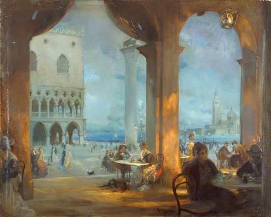 La piazzetta, Venice