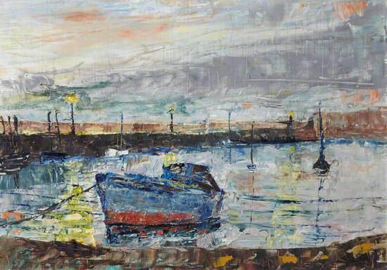 Dusk at Fisherrow, Musselburgh