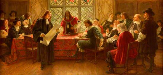 The First Meeting of the Merchant Company, 1st December 1681
