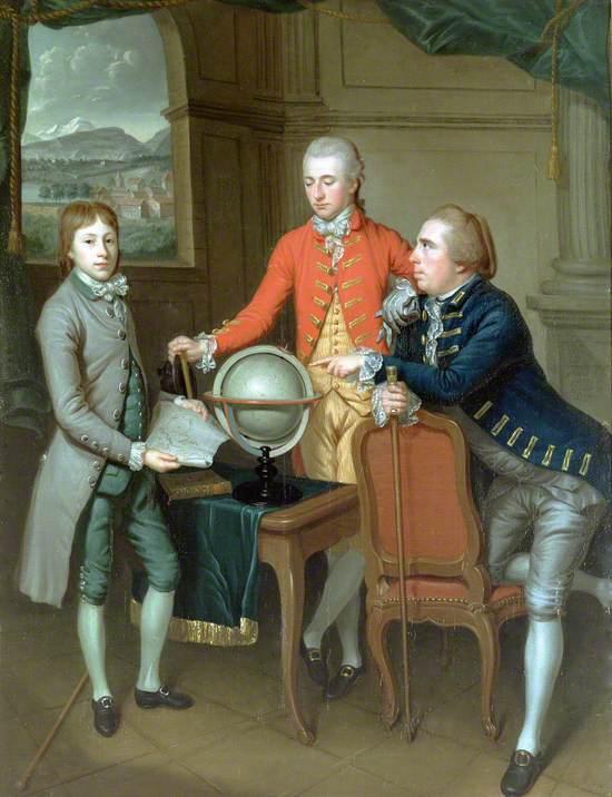 Douglas, 8th Duke of Hamilton on His Grand Tour