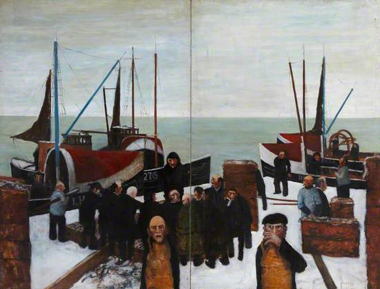 Fishers in the Snow