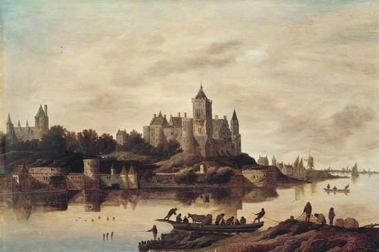 View of Het Valkhof, Nijmegen, The Netherlands