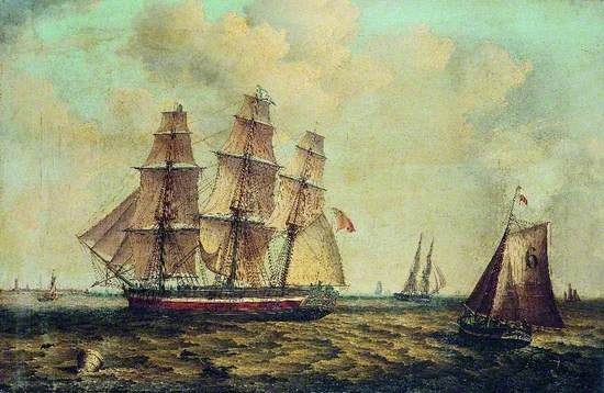 The Three-Masted Barque 'Halcyon' of Hull
