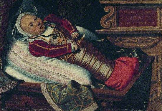 Cornelia Burch, Aged Two Months