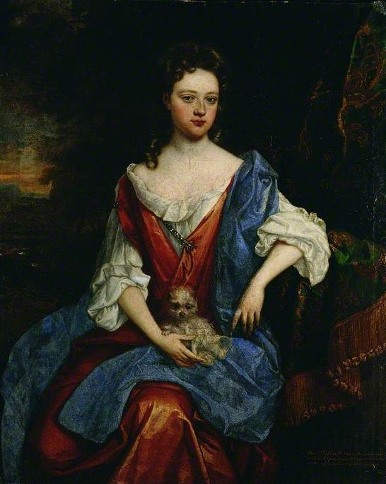 Mary, Lady Barrington Bourchier (d.1700)