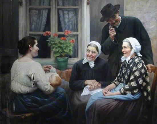 Gossips, Lorraine, France