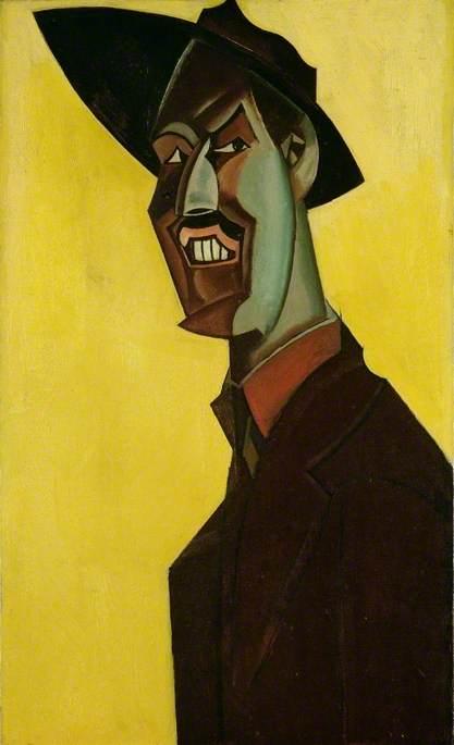Mr Wyndham Lewis as 'Tyro'