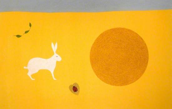 The Hare in the Hayfield