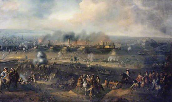 The Siege of Bonn by the Dutch Army in 1703