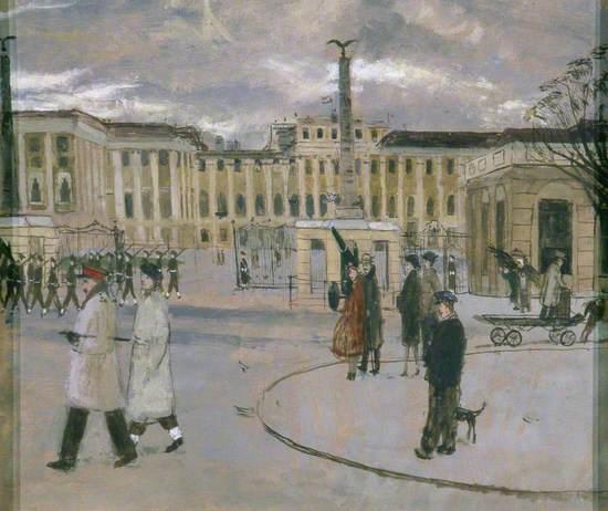 Cold Day, Schönbrunn, Vienna, Austria