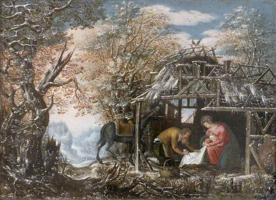A Rest on the Flight into Egypt
