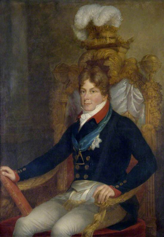 George, Prince of Wales, as Grand Master of Freemasons