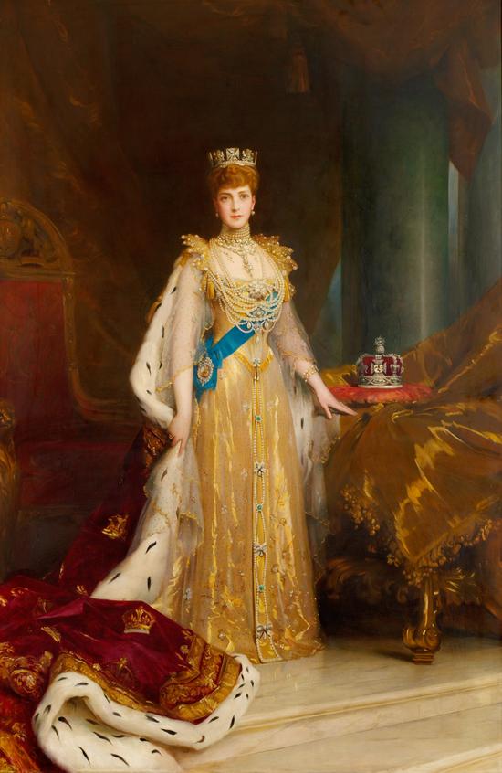 Alexandra of Denmark (1844–1925), Queen Consort of King Edward VII